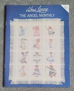 Alma Lynne Designs THE ANGEL MONTHLY Cross Stitch #ALX-89