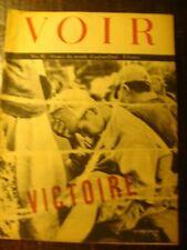 Revue photos - VOIR - Journal de Guerre - N° 35 - VICTOIRE - le Japon s'incline