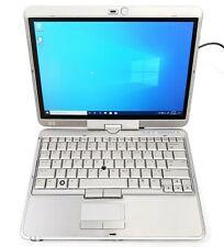 "*ISSUES* HP EliteBook 2730p 12.1"" (80GB, Core 2 Duo U9300, 2GB, Win10) 23458-1"