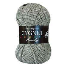 Cygnet Chunky Wool Yarn Acrylic 100g %7c Choice of Colours %7c *BUY 10 GET 10%25 OFF*