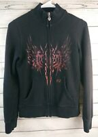Harley Davidson Zip Up Sweater Womens Size Small