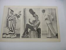 BILLY WELLS DRAG QUEEN  ST ANNES LANCS  ADVERT POSTCARD  OLD
