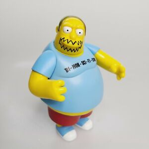 Playmates The Simpsons Convention Comic Book Guy Figure World of Springfield