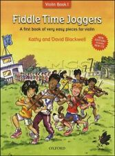 More details for fiddle time joggers beginners learn how to play violin music book 1&cd