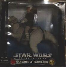 Vtg 1997 Han Solo & Tauntaun 12 Inch Star Wars Collector Series Kenner Sealed