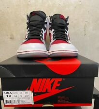 "Air Jordan 1 Retro High OG ""Carmine"" Red White Black 555088 123 Size 10"