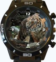 Wild Sumatran Tiger New Trendy Sports Series Unisex Gift Wrist Watch