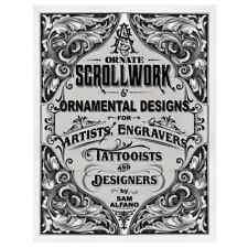 Ornate Scrollwork & Ornamental Designs by Sam Alfano / engraving