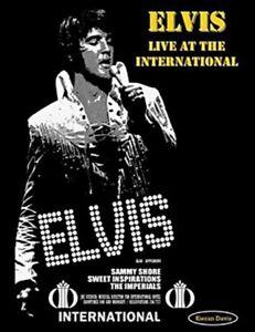ELVIS LIVE AT THE INTERNATIONAL + ON TOUR BOTH HARDCOVER BOOK KIERAN DAVIS