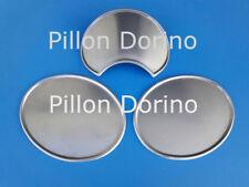 Tabelle portanumero alluminio N°1 anteriore bombata curva e N°2 laterali piatte