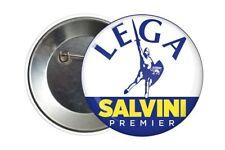 Badge Pin Button 38 mm Lega Salvini Premier