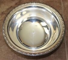 Vintage Camelot Melody Silverplate Bowl Everett Jewelers Dallas Large Serving 10