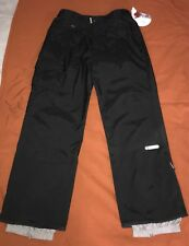 NWT O'NEILL Mens XL Black Snowboard Ski Winter Pants WOODPECKER Style Basetek