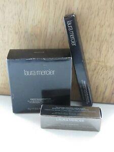 New In Box Mercier Lof of 3 Makeup Lipstick Eye Colour Face Illuminator