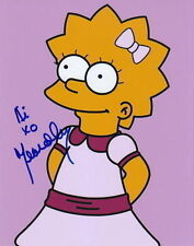 YEARDLEY SMITH.. Cartoon Cutie Lisa Simpson - SIGNED
