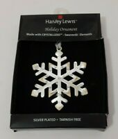 HARVEY LEWIS HOLIDAY ORNAMENT MADE WITH CRYSTALLIZED SWAROVSKI ELEMENTS NIP