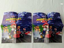 *SUPER RARE* Lot of 2 Mario Kart 64 2002 Posters - SUPER NICE!