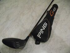 PING G400  3 WOOD,  S FLEX WITH HEAD COVER