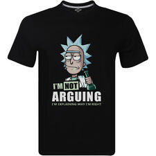 Rick and Morty I'm Not Arguing I'm Explaining Why I'm Right T-Shirt Funny Gift