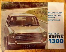 Austin 1300 Brochure c1968