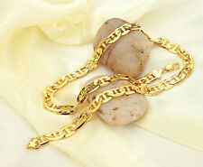 """Length 20"""" Cool 18K Gold Filled Decent Necklace Stunning Chain Free Ship"""