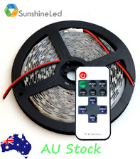 5m LED Strip Lights Warm White Waterproof 10 button Remote control SMD 5050