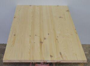 Massivholzplatte Holzplatte Platte Kiefer B-Ware durchg. Lamellen 1000x900x30mm