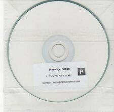 (DV563) Memory Tapes, Thru The Field - DJ CD