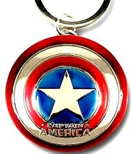 NEW! Marvel Avengers Captain America Shield Metal Key Chain Good weight! Awesome