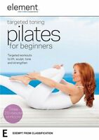 Element: Targeted Toning Pilates for Beginners  - DVD - NEW Region 4