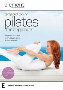 Element - Targeted Toning Pilates For Beginners (DVD) NEW/SEALED