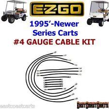 EZGO Series Golf Cart # 4 Gauge 600 volt Cable Set