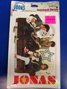 Jonas Brothers Disney Pop Star Kid Birthday Party Favor Stickers Notebook Decals