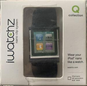 iWatchz Nano Clip System  Color Is Black- iPod Nano 6th Gen 8GB 16GB