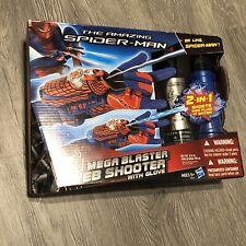 Hasbro Marvel The Amazing Spiderman Mega Blaster Web Shooter with Glove New!