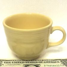 Ivory Fiesta Coffee Cup Not Marked Beautifully Ringed Old Classic Color Reissue!