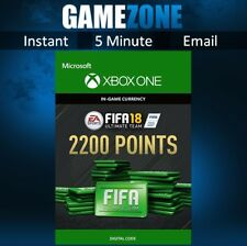 FIFA 18 Ultimate Team - 2200 FIFA Points - Xbox One - FUT Points Code - 2018