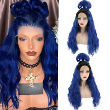 Women Ladies Lace Front Ombre Long Wavy Curly Hair Full Wigs Synthetic Cosplay