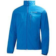NEW Mens XL Helly Hansen Odin Foil Jacket Cobalt Blue Lightweight Shell
