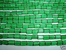 AL604 6x4mm ATLAS VINTAGE Glass CANE-MEDIUM PERIDOT-50