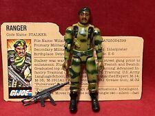 New listing 1982 Vintage Gi Joe.Stalker 100% Complete