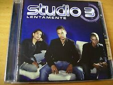 STUDIO 3 LENTAMENTE CD EX--