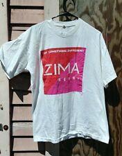Vtg Zima Berry Shirt 90s Alcoholic Beverage Single Stitch Size XL
