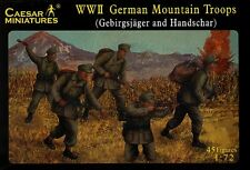 WWII German Mountain Trops-  - Caesar Miniatures H045- 1/72 Scale