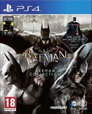 Batman Arkham Collection - Batmah Arkham Asylum - City - Knigh - PS4 📥