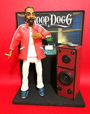 Statuina - Action Figures SNOOP DOGG con DIORAMA studio di registrazione