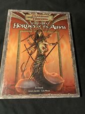 Dungeons & Dragons Fiendish Codex I: Hordes Of The Abyss Hardcover D20 2006