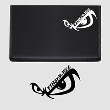 Auto Laptop Aufkleber Finger weg Tuning sticker