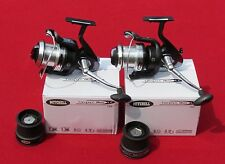 2 moulinets surfcasting ou carp mitchell compact silver lc 700-- 6 roulements