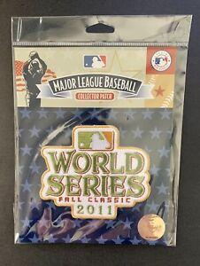 2011 MLB WORLD SERIES OFFICIAL PATCH - ST LOUIS CARDINALS vs TEXAS RANGERS